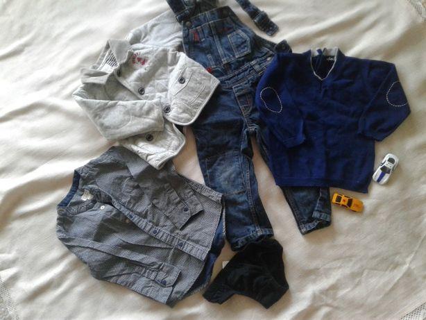 пакет брендових речей вещей костюм джинси на рік хлопчику