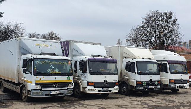 Перевезення вантажу по м. Полтава та області.