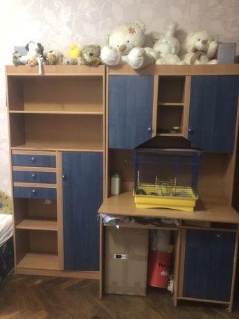 Дитячі меблі, дитячий стіл, стіл в дитячу, шафа в дитячу, стелаж, дитя