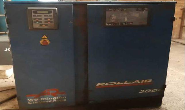Compressor parafuso 22Kw, 2.11 m3 Rollair 3000