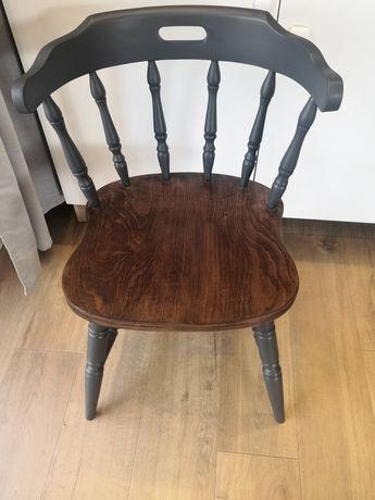 Krzesło antyk lite drewno bonanza nevada