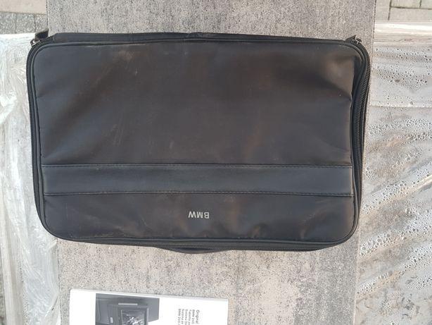 Torba do ekranów tabletów BMW + stojaki + kabel hdmi + klipsy do kabla
