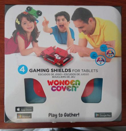 Gaming shields for tablet