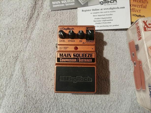 Kompresor gitarowy Digitech Main Squeeze