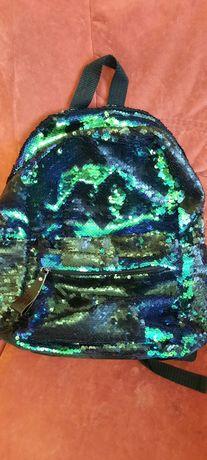 Рюкзак для девочки yes в паетках