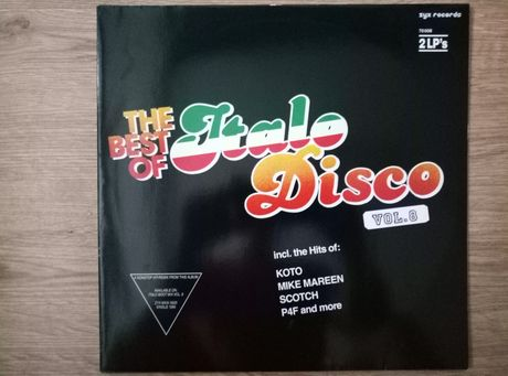 The best of Italo Disco vol 8. 2 x lp.