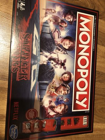 Gra Planszowa Monopoly Stranger Things