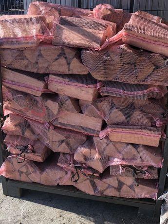 PROMOCJA Drewno kominkowe suche workowane- Buk