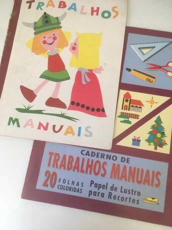 2 Cadernos de Papel de Lustro