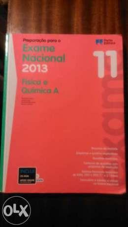 livro preparação exame nacional
