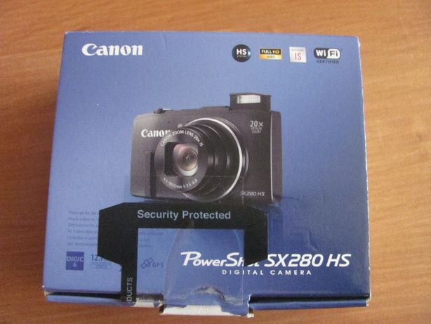 Aparat cyfrowy Canon Power Shot SX 280 HS