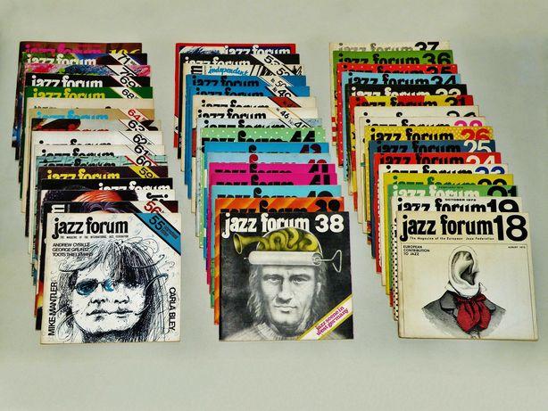 '' Jazz Forum '' , Ed. International , 48 n-rów z lat '1972-'1987