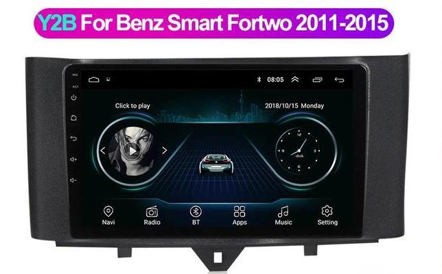 Автомагнитола для Mercedes BENZ SMART 2011-2014, Android, 2/116Gb