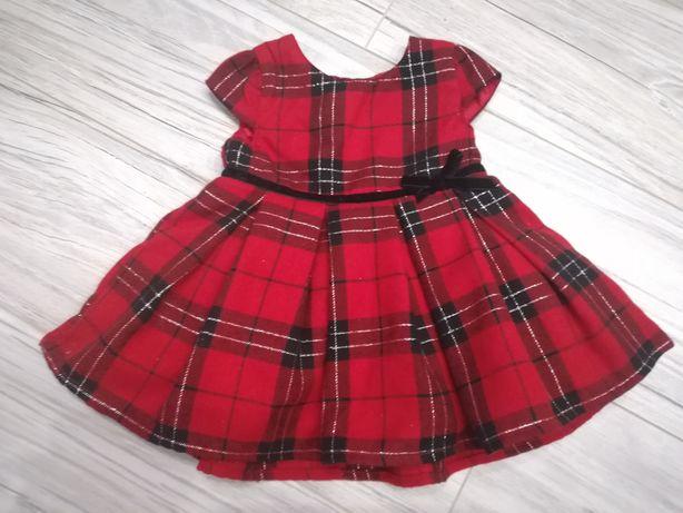 Sukienka krata NOWA