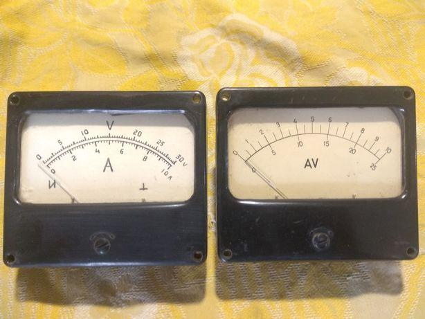 Амперметр вольтметр 10А/25В,10А/30В