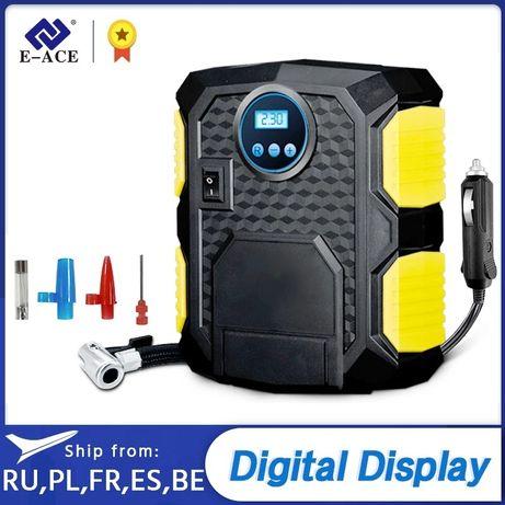 Compressor digital de esqueiro para peneus, bolas e piscinas e assim