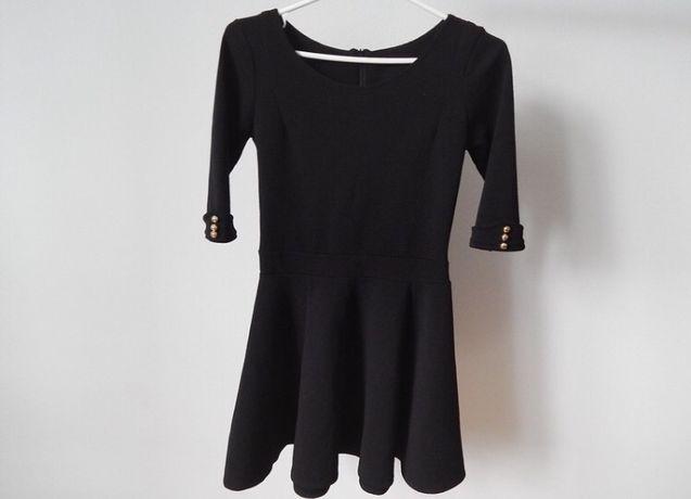 Czarna sukienka xxs/xs