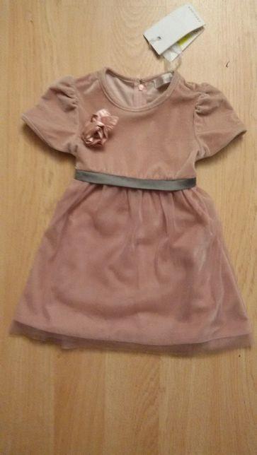 Платье для девочки фирма Gaialuna р. 24 новое