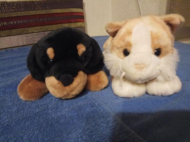 Мягкие плюшевые игрушки Собачка, Кошечка Plush & Company Италия