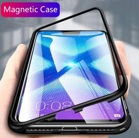 Магнитный чехол на для Huawei P Smart 2019 / Honor 10 Lite / 9X / 8X