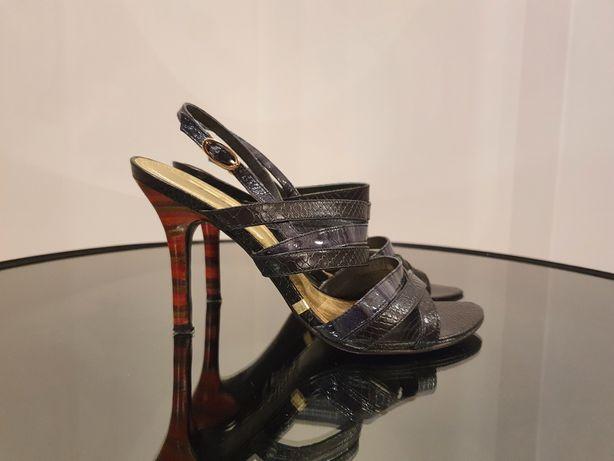 Sandały na szpilce Kazar rozmiar 37