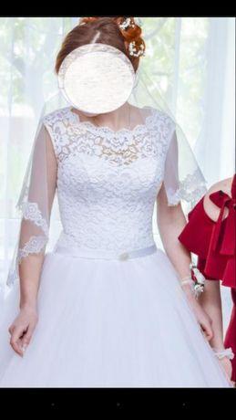 Весільне плаття, платье свадебное 44-46 р.