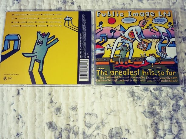PUBLIC IMAGE LIMITED - CD -The Greatest Hits,So Far i That What Is Not