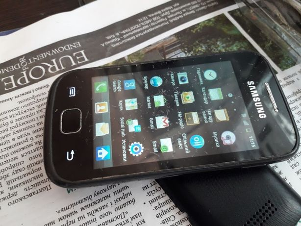 Телефон Samsung GT-S660 Galaxy Gio