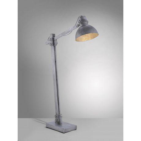 Rustykalna stojąca lampa LOFT SAMIA E27 Leuchten Direkt industrialna