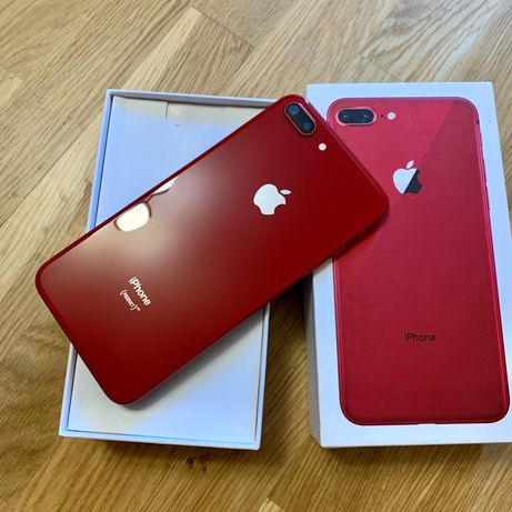 Apple iPhone 8 plus 256GB Neverlock red (не 64)