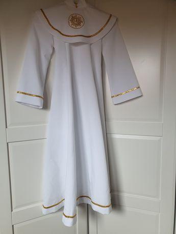Alba sukienka komunijna, komunia