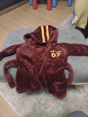 Sprzedam szlafrok chłopięcy dziewczęcy George Harry Potter 9-12M
