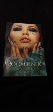 "Książka ""Pocałunek Gwen Frost"" Jennifer Estep"