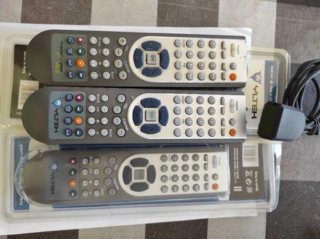 3  Comandos Universais  com programador por Infravermelhos no PC .