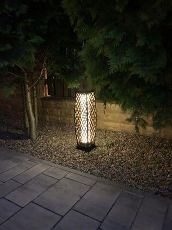 Ogrodowa lampa solarna LED Technorattan