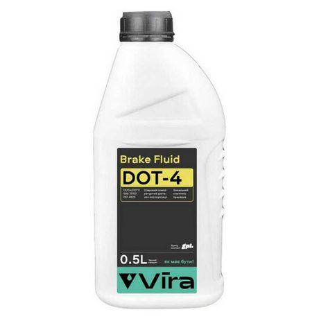 Тормозная жидкость DOT 4 0,5л Vira