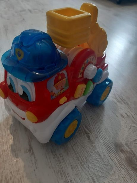 Straż pożarna Clementoni zabawka interaktywna