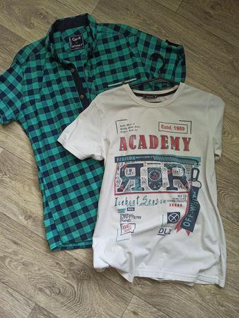 Рубашка+футболка 152-158 р