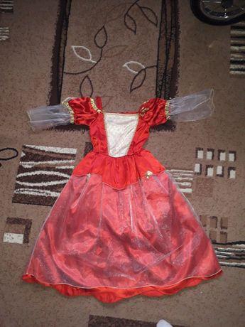 Карнавальное платье на рост 124
