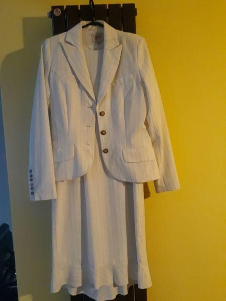 Śliczny komplet sukienka i żakiet SIMPLE r. 36