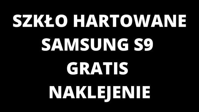 Szkło Hartowane UV Samsung S9 gratis naklejenie