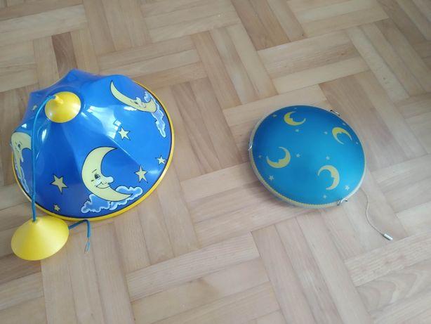 Żyrandol i kinkiet Księżyc