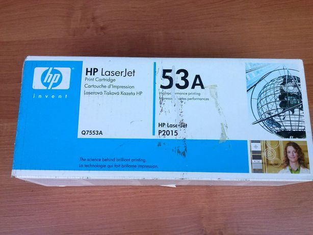 Toner HP LASERJET 53A NOWY oryginalny Q7553A czarny made in Japan