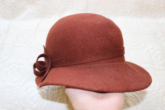 Elegancki kapelusz damski jak nowy do sprzedania