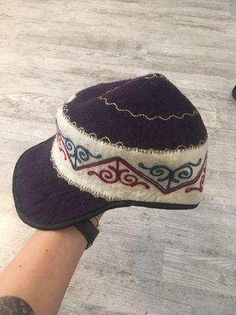 Oryginalny kaszkiet / czapka mongolska