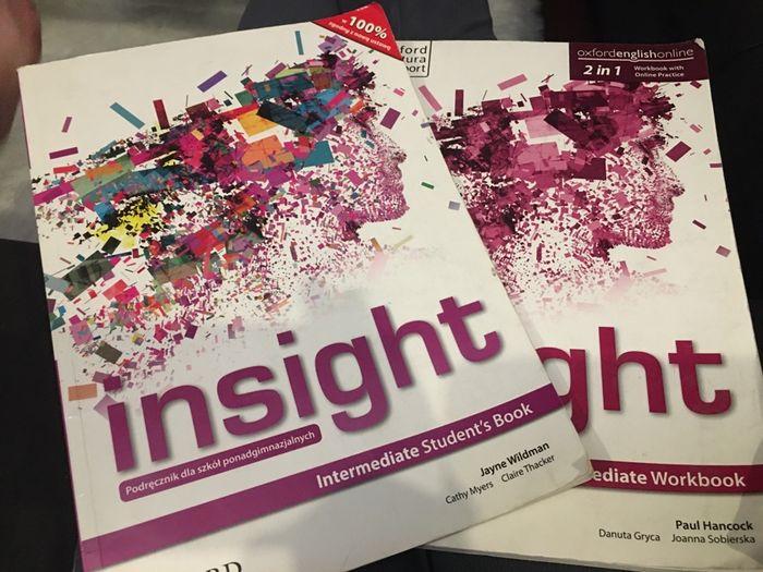 Insight intermediate, podręcznik i ćwiczenia używany, Oxford Zamość - image 1