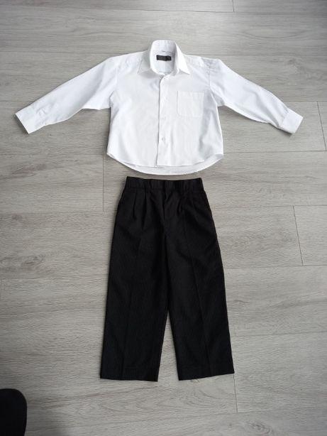 Белая рубашка, брюки для мальчика 3-4 лет