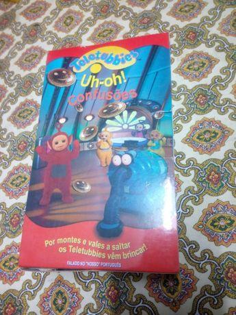 Conjunto 2 VHS Teletubies