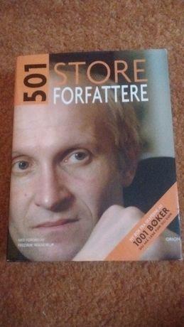 501 store forfattere, książka po norwesku