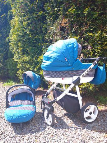 Wózek 3w1 stan bardzo dobry  spacerówka gondola nosidełko wysyłka